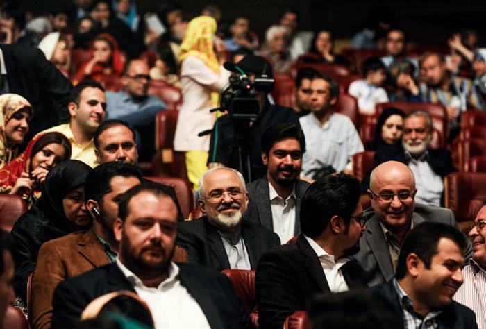 (تصاویر) ظریف میهمان ارکستر «البرز»