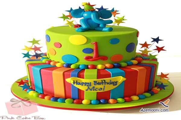 Photo beautiful birthday cake Children(12)