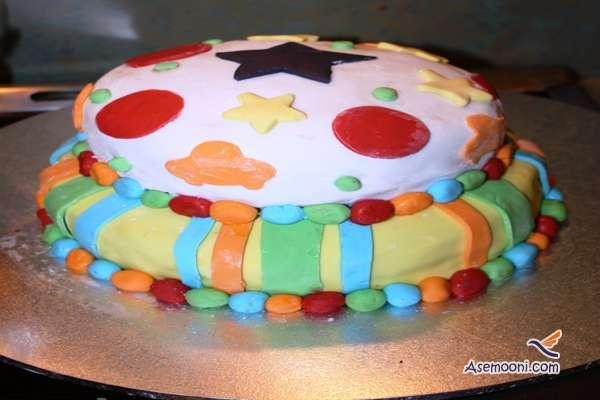 Photo beautiful birthday cake Children(13)