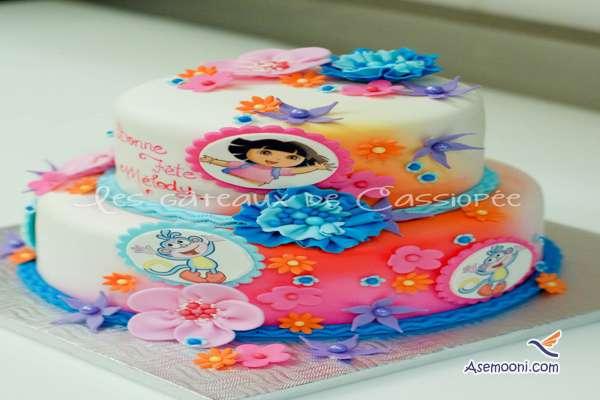 Photo beautiful birthday cake Children(16)