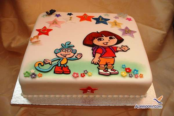 Photo beautiful birthday cake Children(17)