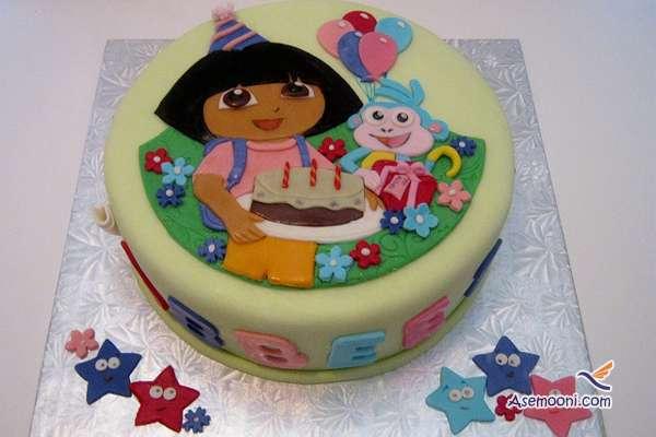 Photo beautiful birthday cake Children(7)