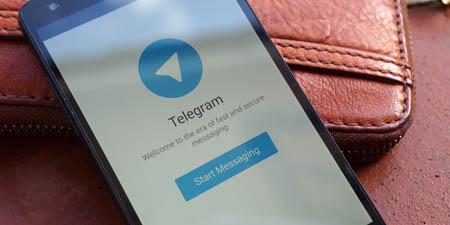 تلگرام و مشکل