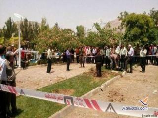 پرتاب شدن گلوله ی جنگی در خاک اصفهان