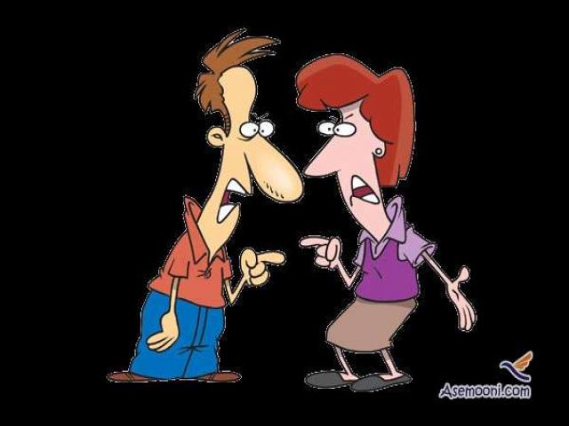 شعر طنز بسیار جالب مجادله بین مرد و زن