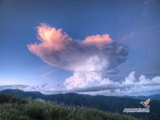 تصاویری زیبا از اَشکال های مختلف ابرهای عجیب