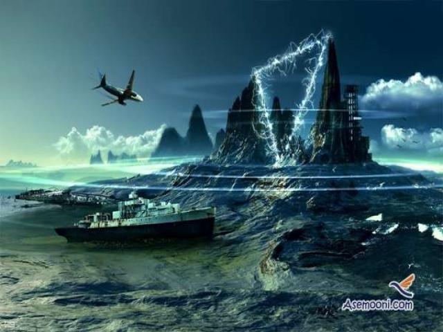 اژدهای خفته در دریای شیطان ( مثلث اژدها )