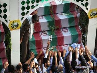 مراسم تشییع و بزرگداشت 175 شهید غواص