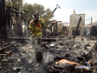 آتش سوزی بزرگ در مشهد جان 137 زائر را در معرض خطر قرار داد