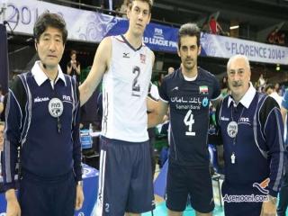دومین پیروزی غرور آفرین تیم ملی والیبال ایران مقابل آمریکا