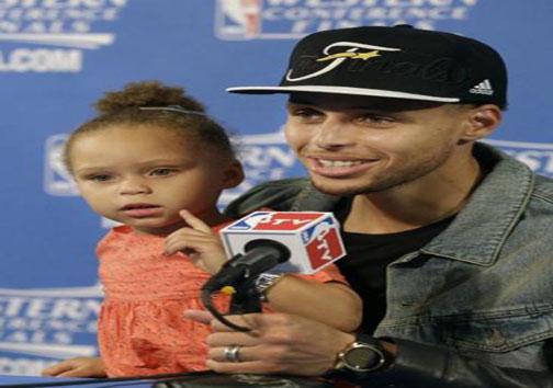 دختر استفن کری در صدر توجه NBA + تصاویر