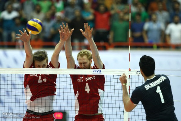 The first home defeat of the national volleyball team(1)