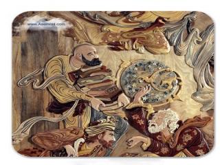 تاریخچه هنر معرق روی چوب