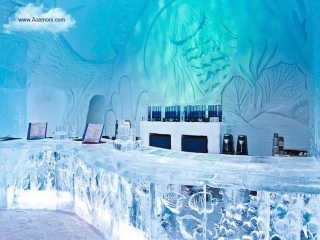 هتل جذاب یخی در شهر کوبک کانادا