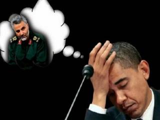 ایران به واسطه قاسم سلیمانی اوباما را دور زده است