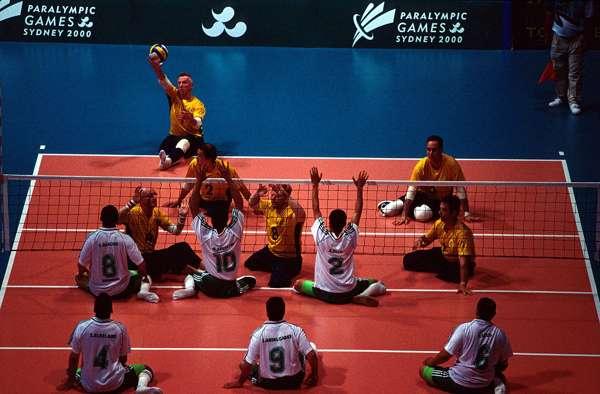 sitting-volleyball