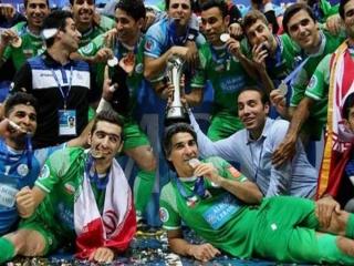قهرمانی تاسیسات دریایی در جام باشگاه های فوتسال آسیا