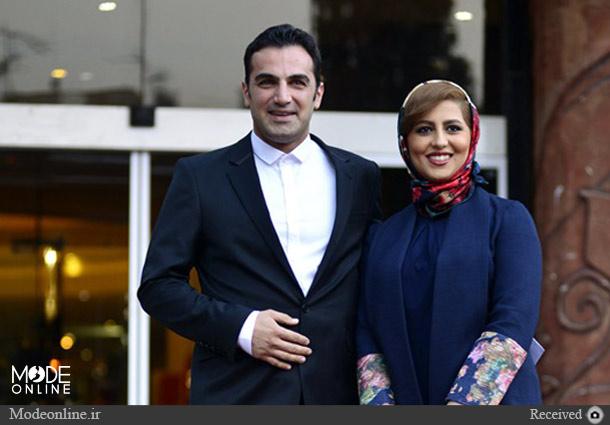 کوروش سلیمانی و همسرش