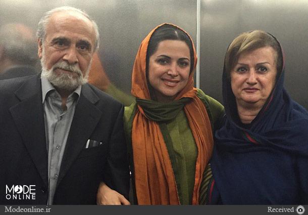 سعید امیرسلیمانی، همسر و دخترش کمند