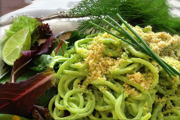 pasta-with-green-sauce