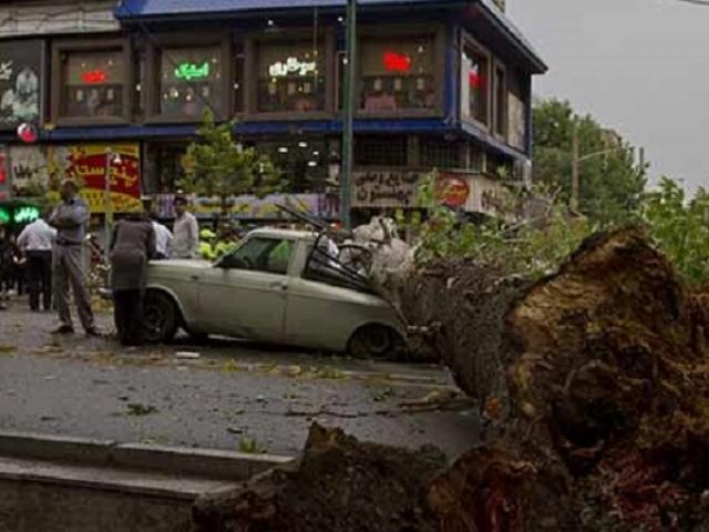 وقوع 38 مورد حادثه در پایتخت / هیچ مصدومی نداشتیم