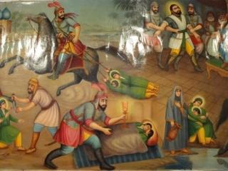 حضور امام حسن (ع) و امام حسین (ع) در جنگ اعراب با ایران