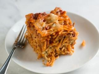 اسپاگتی مخصوص با سس پستو