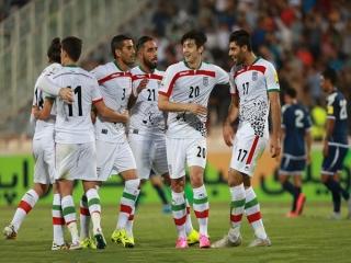 پیروزی ملی پوشان فوتبال ایران برابر هند