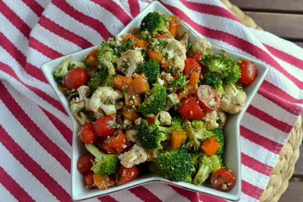 Cauliflower and carrot salad