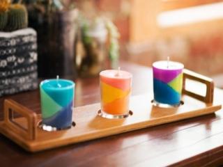 نحوه ساخت شمع های رنگی و فانتزی