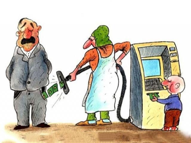 کاریکاتورهای جالب پول پرستی