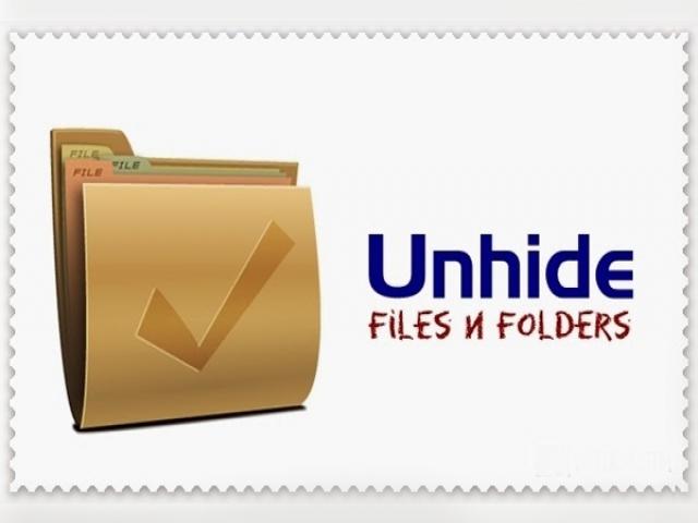 فایل های مخفی شده توسط ویروس ها با یک کلیک نمایان کنید!