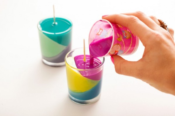Making colored candles(5)