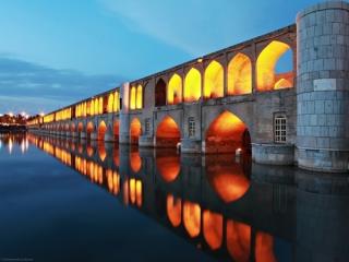 تصاویر دیدنی پل خواجو اصفهان
