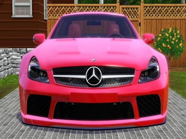 تصاویر دیدنی از ماشین های دخترونه صورتی
