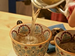 زمان مصرف چای