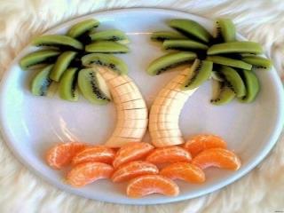 آموزش میوه آرایی با موز