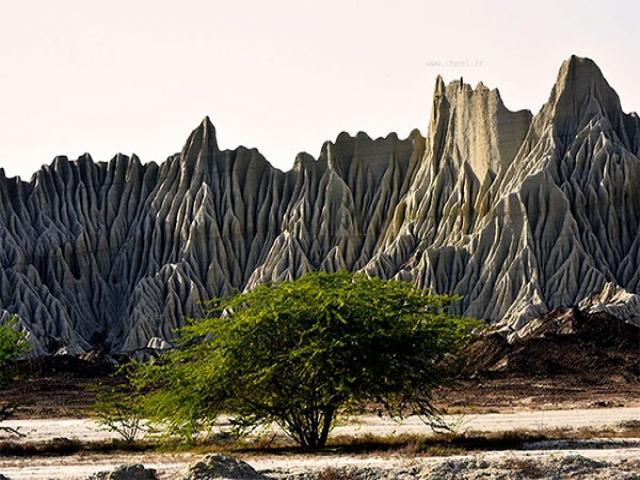 کوه های مینیاتوری چابهار