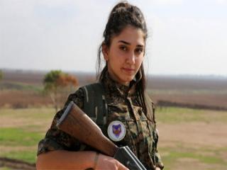 زنان چریک در جنگ با داعش