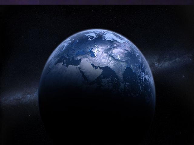 زمین احاطه در ماده تاریک!