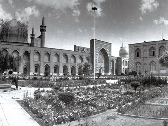 عکس قدیم و جدید مشهد و حرم امام رضا (ع)