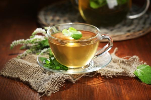 Herbal tea winter
