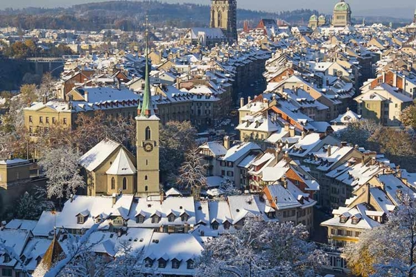 Spectacular images of towns and villages in the Christmas mood