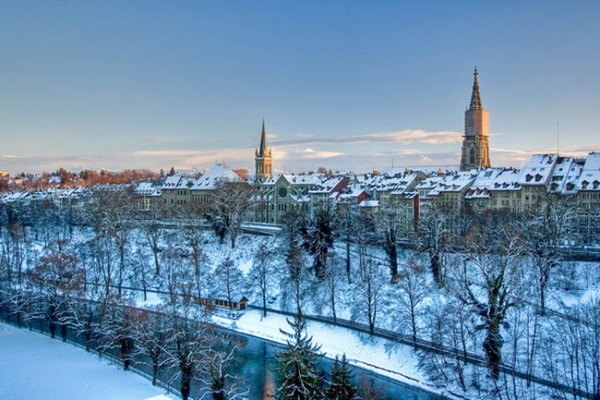 Spectacular images of towns and villages in the Christmas mood(3)
