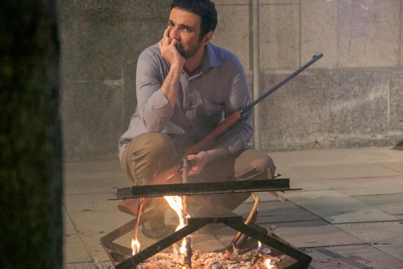 محمدرضا فروتن در نمایی از فیلم شیفت شب