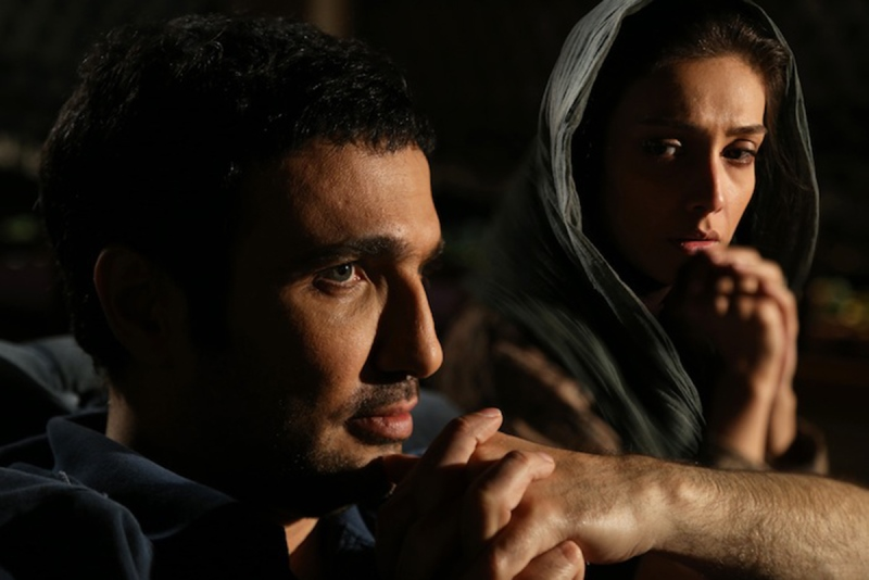 محمدرضا فروتن و لیلا زارع در فیلم شیفت شب