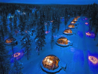 روستای اسکیمو در فنلاند