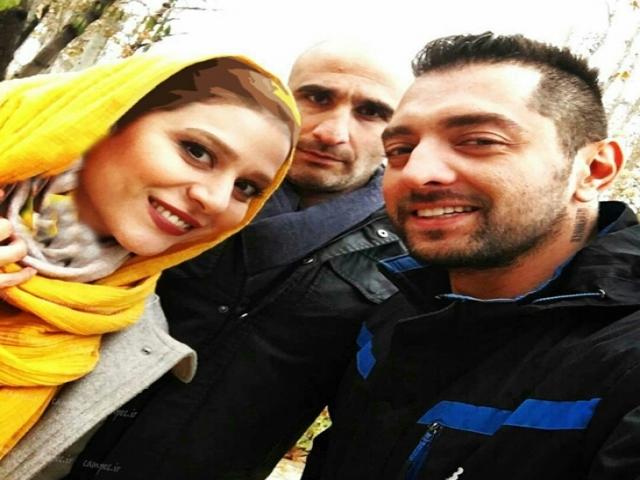 عکس هایی از بهرام رادان در فیلم بارکد