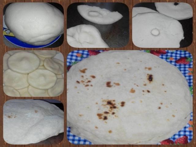 یک نان محلی - نان برنجی گیلان
