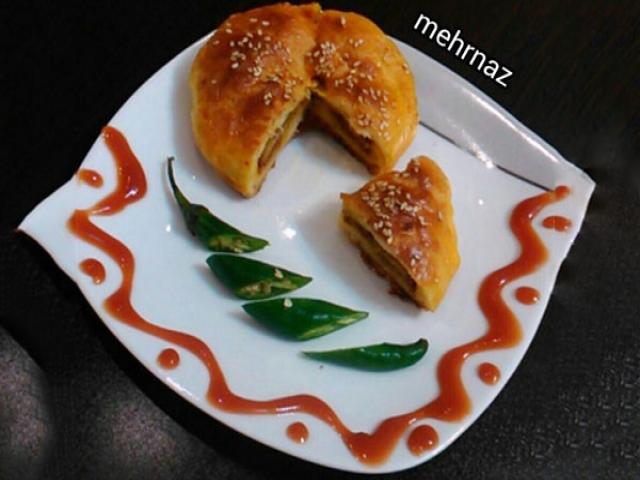 یک غذای فانتزی : کلوچه گوشت